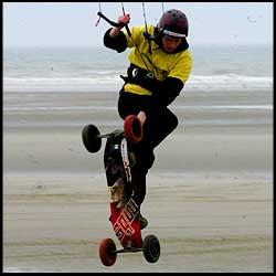 Kitelandboarding - Aston Wilby