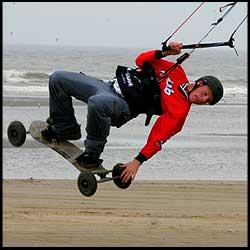 Kite Mountainboarding - Diarmuid Higgins