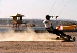 Kite All-Terrain Boarding
