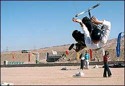 Kite Landboard Tricks