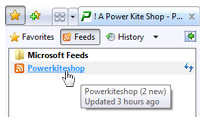 Powerkiteshop News Feed Step 4