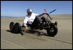 Dan Buggying in the Dunes