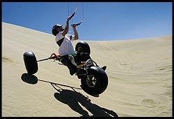 Kent McNish Dune Buggying Landing