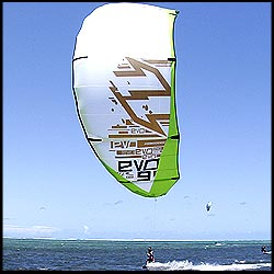 North EVO 2008 08 Kiteboarding SLE LEI Kiteboard Kite