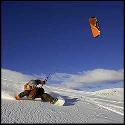 Ozone Frenzy FX Depower Depoweable Land Snow Kite
