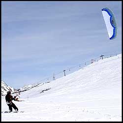 Ozone Manta Snow Kiting