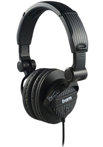 Bern DJ Pinstripe Audio Headphones