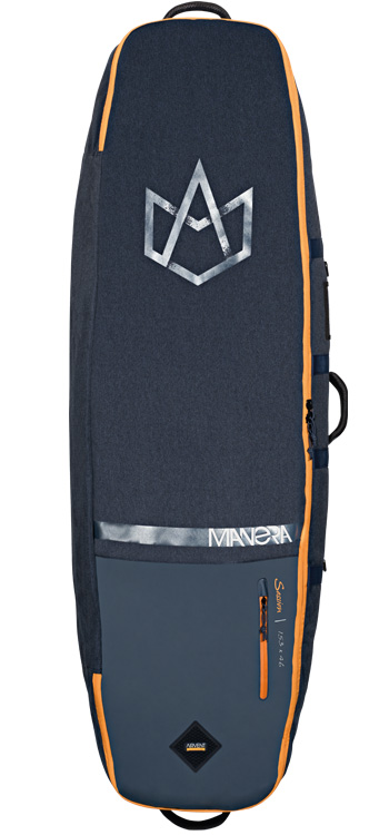 F-One Kiteboarding Manera Session Twintip Kitesurf Travel Board Bag with wheels