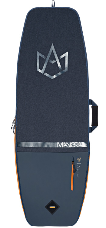 F-One Kiteboarding Manera Playa Twintip Kitesurf Travel Board Bag with wheels