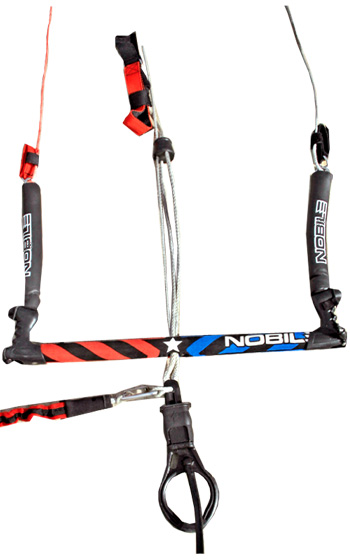 Nobile Kiteboarding 4-Line Control Bar