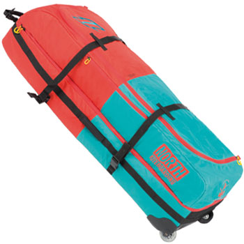 North Kiteboarding Quiverbag Quiver Twintip Kitesurf Travel Board Bag with wheels