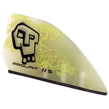 Prolimit Kiteboarding Tribal Fin Set 2008 Asymmetrical Kiteboard Fin Set