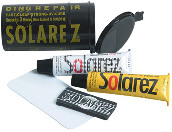 Solarez Mini Pro Travel Surfboard Repair Kit