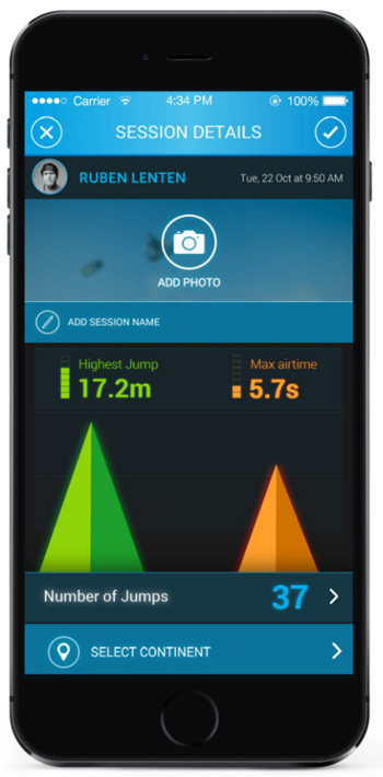 PIQ Kiteboarding Sports Tracker