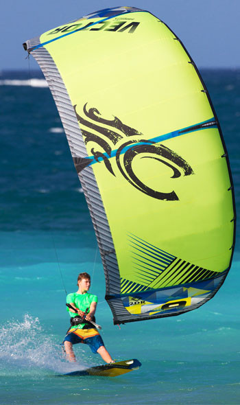 Cabrinha Vector Kite Surf LEI Water Relaunchable