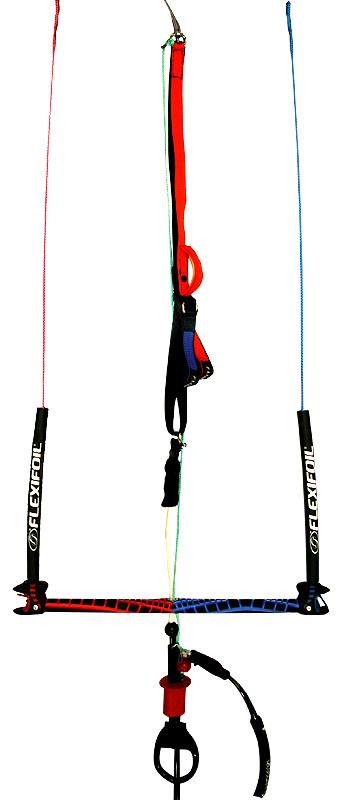 Flexifoil ION 4 SLE LEI BOW Water Relaunchable Kiteboarding Kite