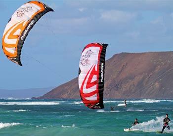 Flysurfer Psycho 4 Depower Foil Kiteboarding Kite