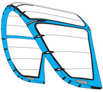 Naish Fly 2014 Water Relaunchable Kiteboarding Kite