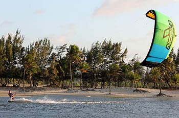 Nobile 50Fifty  Kite SLE LEI Water Relaunchable 4-Line Kite
