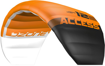 Ozone Access 2014 Cross Country Depowerable Depower Kite Snow Kite Snowkiting