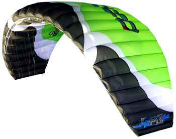 Ozone Manta 3 III 2011 Depowerable Depower Kite Snow Kite Snowkiting