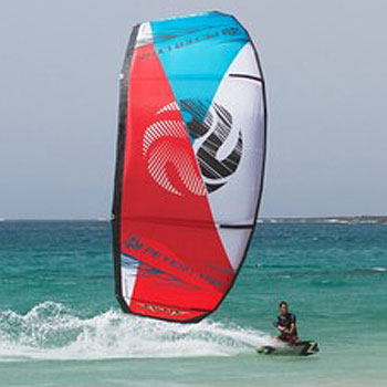 Peter Lynn Escape 2013 Kiteboarding Kite Surf LEI Water Relaunchable C-Shape BOW Kite