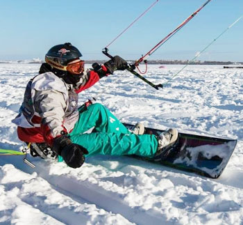 Nobile Snowkite 2012 Snowkite Snowkiting Snowboard Snow Kite  Board