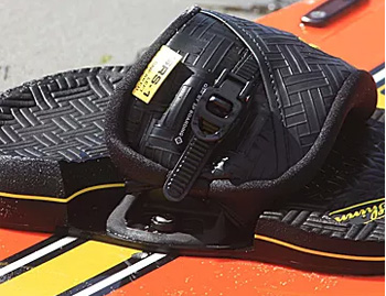 Shinn Kiteboarding Footstrap Binding System