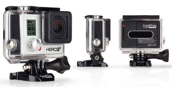 GoPro HD Hero 3 Helmet Hero Pro Black Edition