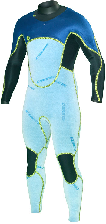 C-Skins Hot Wired 5/4 Front Zip Steamer Double Lined Wetsuit