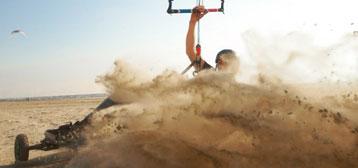 Competition / Race Kite Landboards