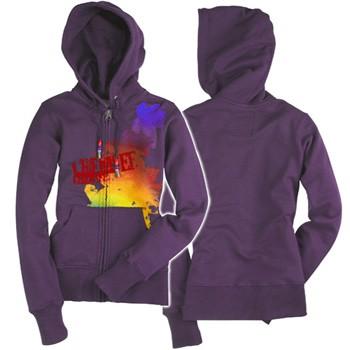 Chiemsee Kiteboarding Cecil Womens Hooded Sweatshirt