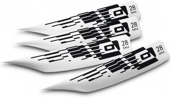 Core Wake G-10 28mm Fins