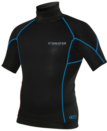 C-Skins Hot Wired Neoprene Short Sleeve Rash Vest