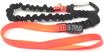 Solo Strap 'Hand Solo' Kite Leash - Orange / Black