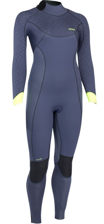 ION Jewel 5/5 Womens Wetsuit - Blue / Lime