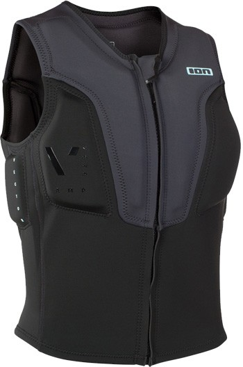 ION Kiteboarding Vector Vest Amp - Grey / Black