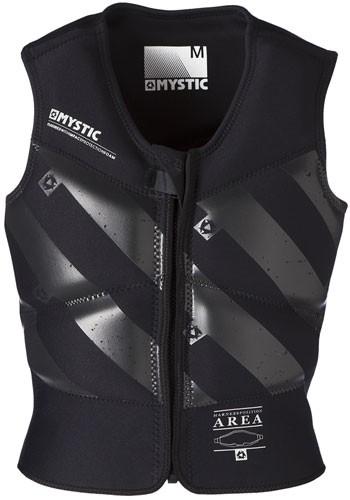 Mystic Kiteboarding Block Kite Impact Vest - Black