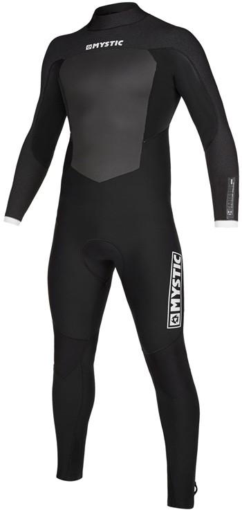 Mystic Majestic 5/3 Backzip Wetsuit - Black