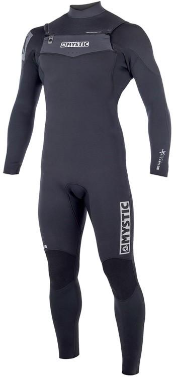 Mystic Kiteboarding Star 5/4 Wetsuit - Grey / Black