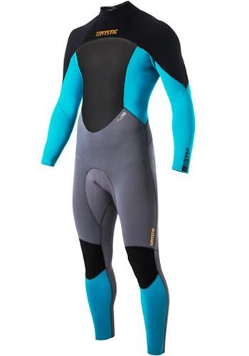 Mystic Kiteboarding Star 5/4 Wetsuit - Teal / Orange