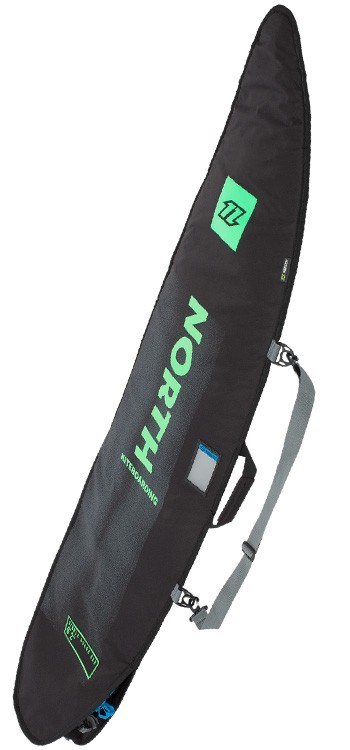North Kiteboarding Single Travel Surf Board Bag - Black