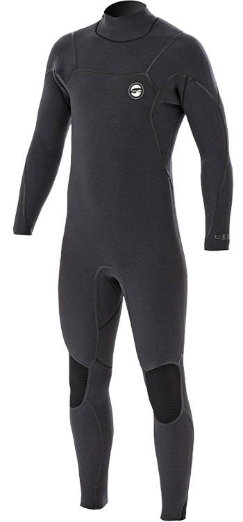 Prolimit Mercury Back Zip 6/4 Wetsuit - Grey