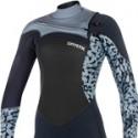 Mystic Diva 5/3 Frontzip Womens Wetsuit - Grey