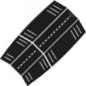 Mystic Guard Mid Front Traction Pad - Black