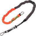 Mystic Kiteboarding Neo Handle Pass Leash - Coral