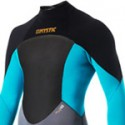 Mystic Kiteboarding Star 5/4 Wetsuit - Teal / Orange