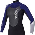 Mystic Kiteboarding Star Womens Longarm Shorty 4/3 Wetsuit
