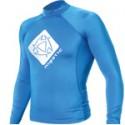 Mystic Star Long Sleeve Lycra Rash Vest - Blue