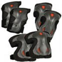 Rollerblade Lux Knee Elbow and Wrist Safety Pad Set